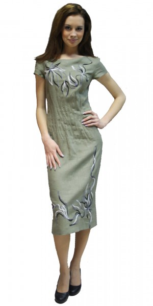 Савосина Платья Из Льна Купить